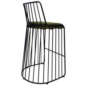 NEO-100262T-Döşemeli-Metal-Bistro-Sandalye-2