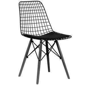 NEO-102311T-Ahşap-Ayaklı-Metal-Tel-Sandalye3