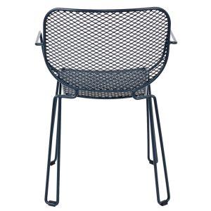 NEO-102381T-Kafes Şeklinde-Metal-Kollu-Bahçe-Sandalye-1