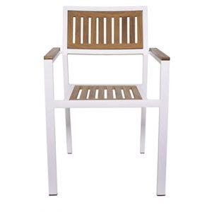 NEO-750012T-Aluminyum-İroko-Sandalye-Bahce-Dis-Mekan-3