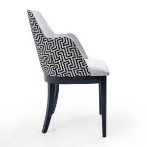 NEO-300305T-Restaurant-Sandalyesi-Döşemeli-Ahşap-Ayaklı-1